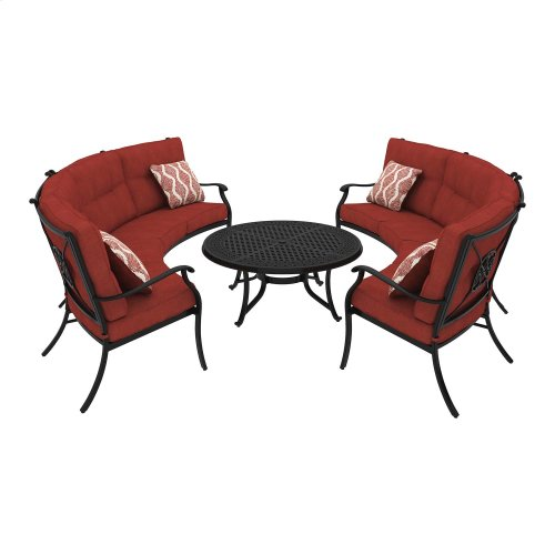Burnella - Brown 2 Piece Patio Set