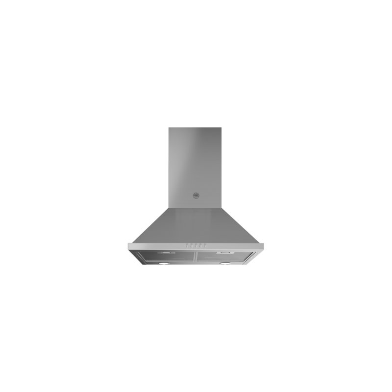 24 Chimney Hood, 1 motor, 600 CFM Stainless Steel
