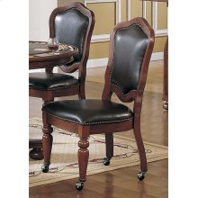 Faran Cordovan Vnly Caster 2pk Chair 2pk
