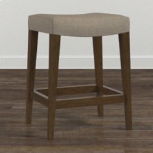 Custom Dining Counter Saddle Stool