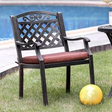 Jessa Patio Arm Chair (2/box)