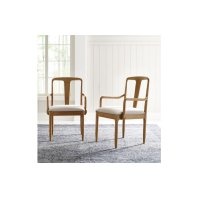 Hygge by Rachael Ray Splat Back Arm Chair Product Image