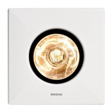 One-Bulb Heater/Fan, 250W BR40 Infrared Bulb, 70 CFM, Type IC, UL Listed for 60°C Wiring (retrofits)