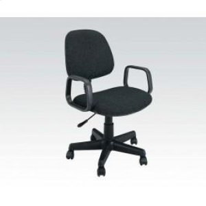 Black Office Chair W/arm @n