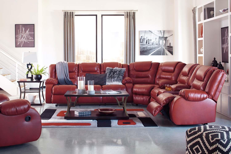 Attrayant Reclining Sofa