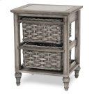 2-Basket Storage Cabinet Product Image