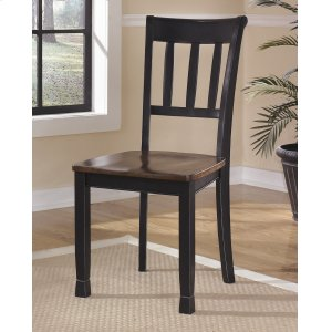 AshleySIGNATURE DESIGN BY ASHLEYOwingsville - Black/Brown Set Of 2 Dining Room Chairs