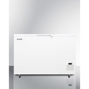 SummitCommercial -45 C Capable Chest Freezer With Digital Thermostat and Over 11 CU.FT. Capacity