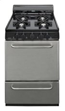 24 in. Fresstanding Gas Range in Stainless Steel Product Image