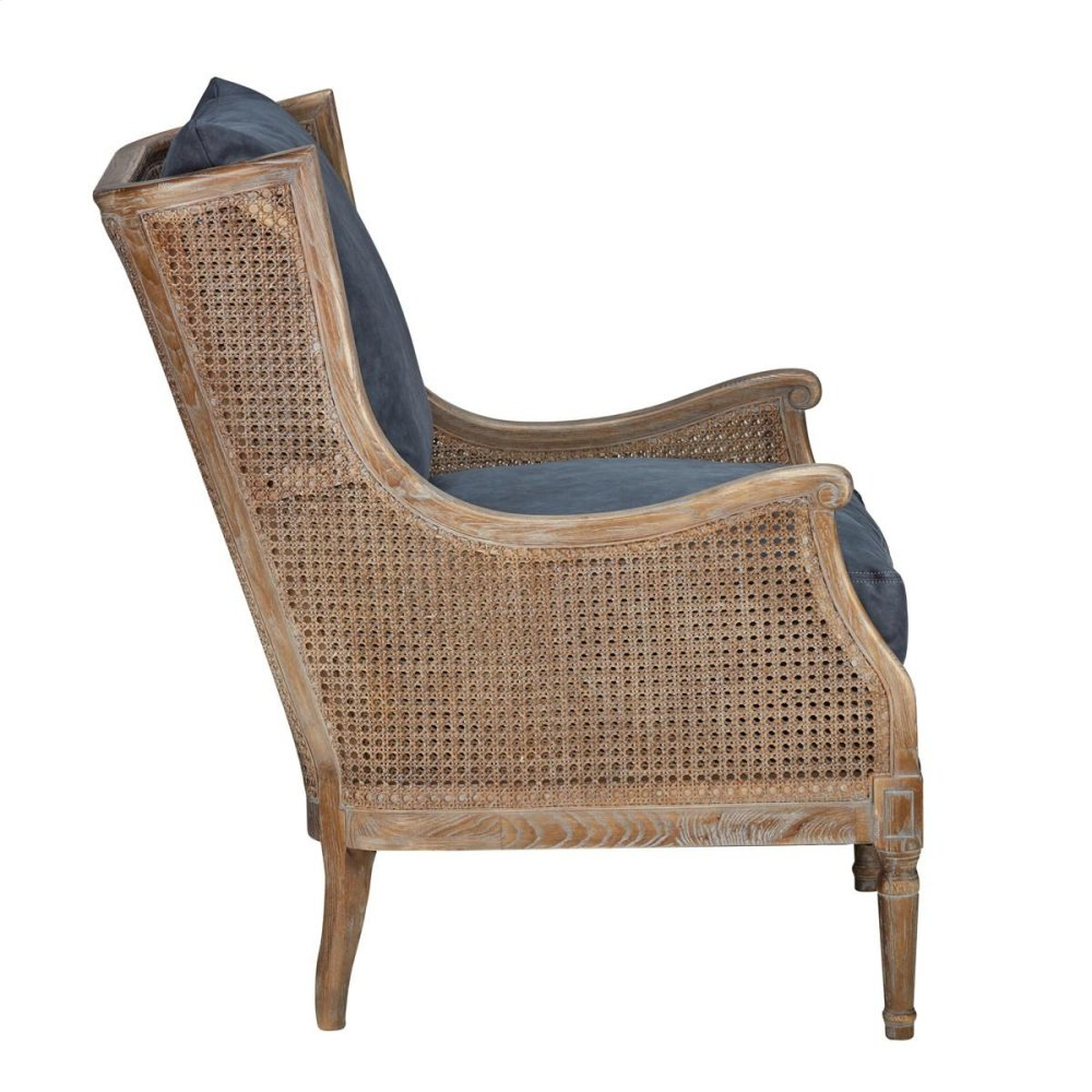 Spencer Club Chair Blue Stone