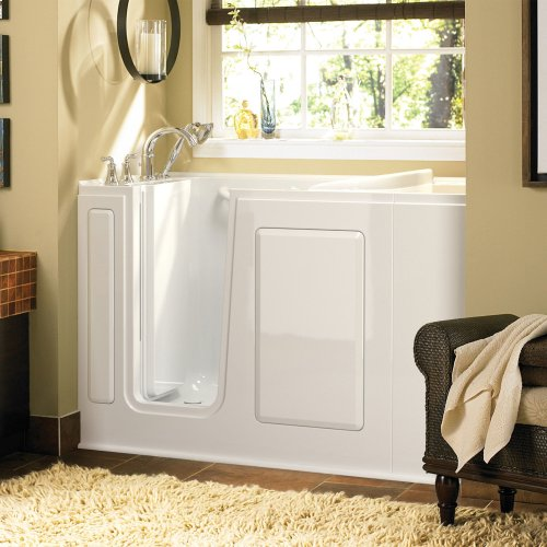 Gelcoat Value Series 28x48-inch Walk-in Tub with Combo Air Spa and Whirlpool System  American Standard - White