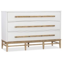 Bedroom Urban Elevation Three-Drawer Bachelors Chest