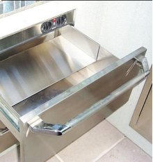 Warming Drawer Rack, Panel and Shelf
