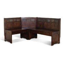 Santa Fe Bench/ Short & Corner/ Seat Wood Seat