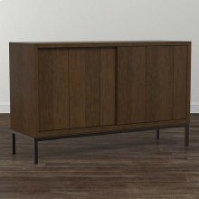 Custom Dining Sliding Door Sideboard
