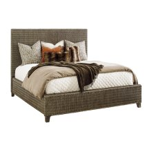 Driftwood Isle Woven Platform Bed California King Headboard