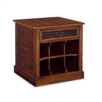 Mercantile Rectangular Storage End Table Product Image