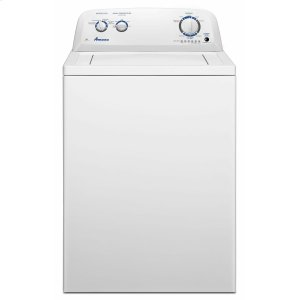 3.5 cu. ft. Top-Load Washer with Dual Action Agitator - White -