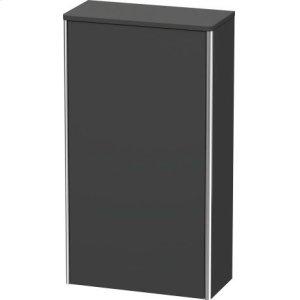 Semi-tall Cabinet, Graphite Matt (decor)