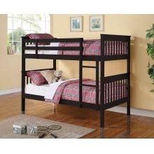 Chapman Black Twin-over-twin Bunk Bed