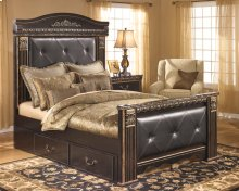 Coal Creek - Dark Brown 6 Piece Bedroom Set