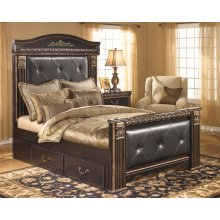 Coal Creek - Dark Brown 5 Piece Bedroom Set