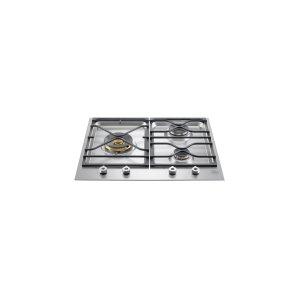 """BertazzoniBertazzoni 24"""" 3-Bruner Gas Cooktop PMB24300X-USA"""