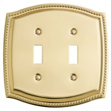 Polished Brass Rope Double Toggle