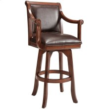 Palm Springs Swivel Counter Height Stool