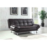 Dilleston Contemporary Brown Sofa Bed Product Image