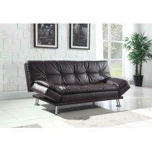 Dilleston Contemporary Brown Sofa Bed