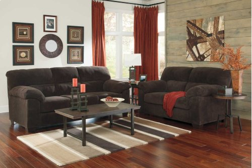 94501 Sofa and Loveseat-Zorah Chocolate