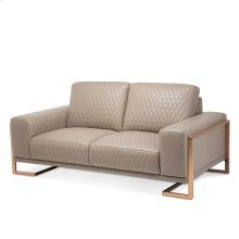 Gianna Leather Loveseat