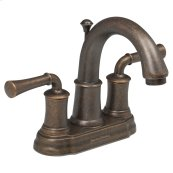 Portsmouth 2-Handle 4 Inch Centerset Bathroom Faucet with Lever Handles  American Standard - Oil Rubbed Bronze