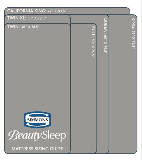 """BeautySleep 8"""" Memory Foam - Mattress-In-A-Box - Queen"""