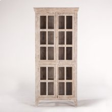 """Coral Gables 38"""" Tall Cabinet Whitewash"""
