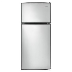 28-inch Wide Top Freezer Refrigerator - 16 cu. ft. - MONOCHROMATIC STAINLESS STEEL