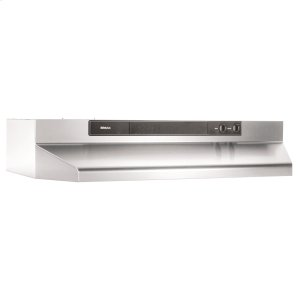 BROANBroan(R) 24-Inch Convertible Under-Cabinet Range Hood, 220 CFM, Stainless Steel