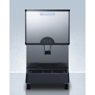 Commercially Listed Countertop Ice and Water Dispenser With 282 Lb. Ice Production Capacity
