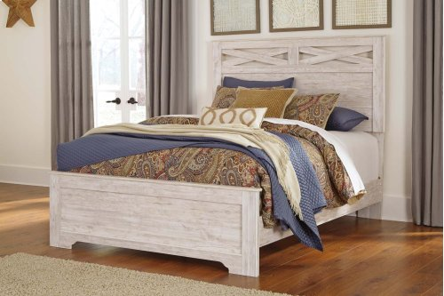 Briartown - Whitewash 3 Piece Bed Set (Queen)