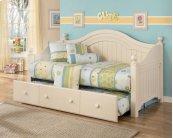 Cottage Retreat - Cream Cottage 6 Piece Bed Set (Full)