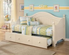 Cottage Retreat - Cream Cottage 5 Piece Bed Set (Twin)