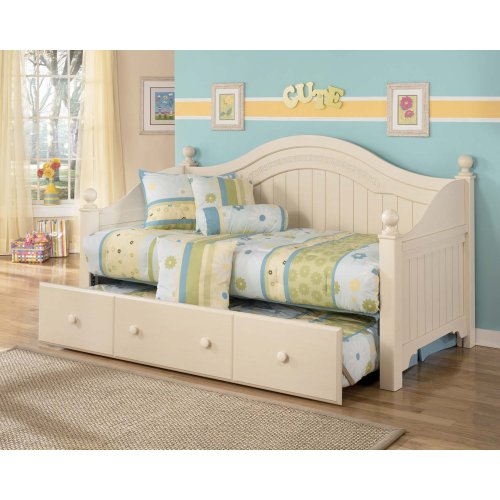 Cottage Retreat Cream 6 Piece Bed Set Full