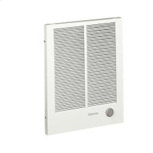 Wall Heater, High Capacity, White, 2000/4000W 240VAC, 1500/3000W 208VAC.
