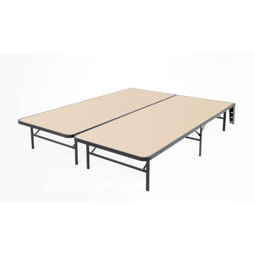 Atlas Bed Base Support System w/ MDF Wood Deck, California King