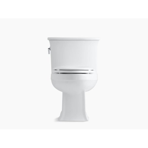 Dune One-piece Elongated 1.28 Gpf Toilet With Aquapiston Flush Technology and Left-hand Trip Lever