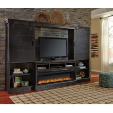 Sharlowe - Charcoal 6 Piece Entertainment Set