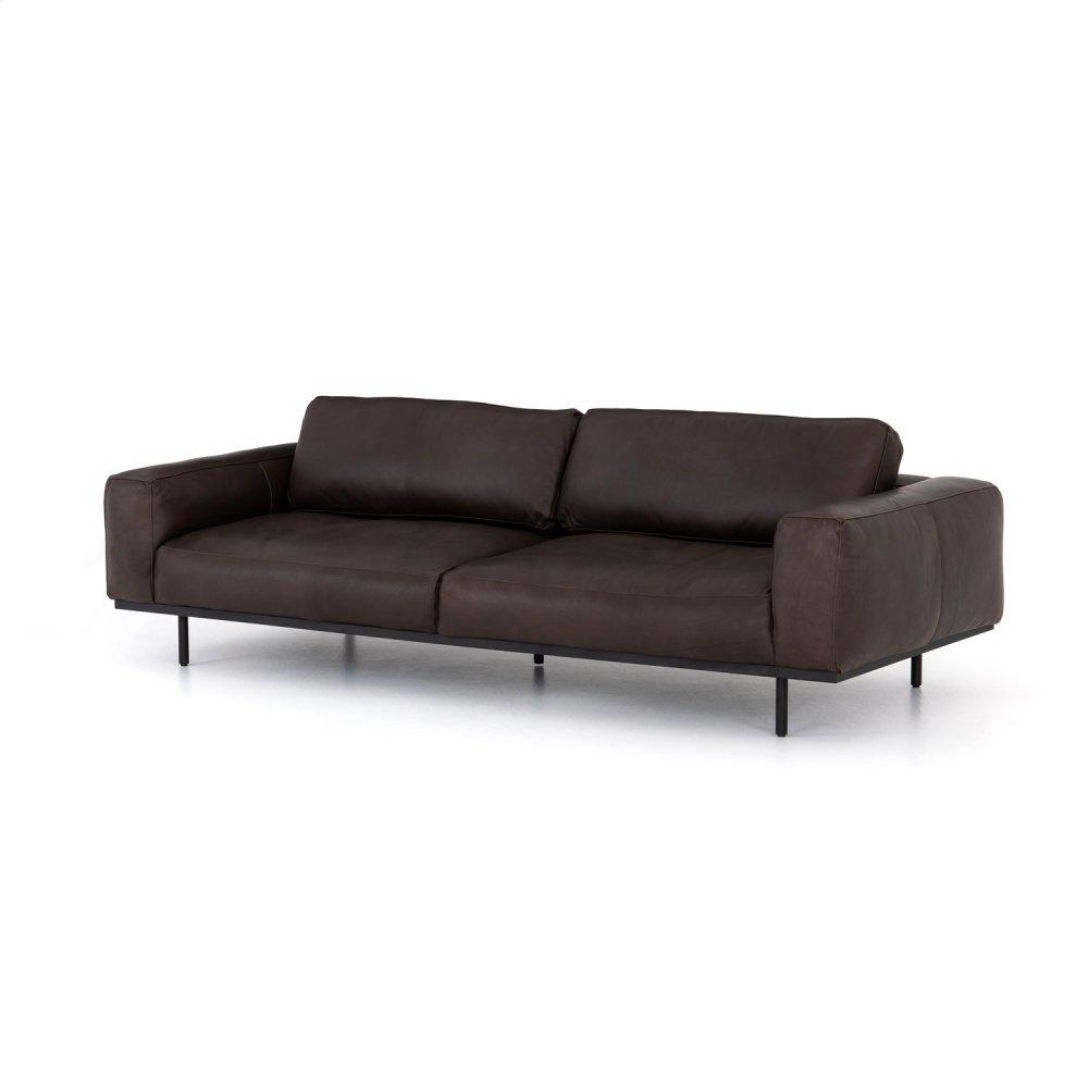 "Pure Bark Cover Landy Leather Sofa-97"""