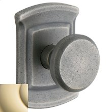 Lifetime Polished Brass 5023 Estate Knob