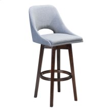 Ashmore Bar Chair Charcoal Gray